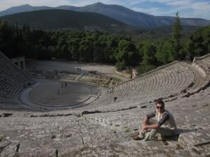 The theater at Epidaurus has marvelous acoustics.