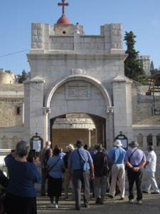 We visited the Orthodox Church of the Annunciation.