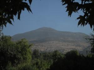 Mount Herman sends water to the Jordan.