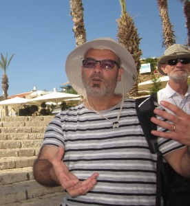 Husam Jibran spoke as a Palestinian.