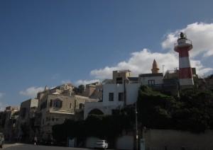 We walked through the Ajami District.