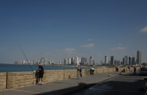 From Jaffa we could see Tel Aviv.