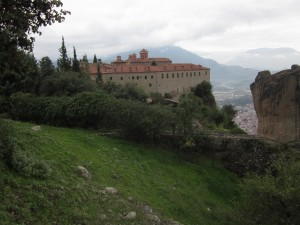We visited the Monastery of St. Stephen first.