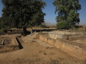The Hebrews worshiped here in the 10h century BC.