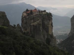Trinity Monastery is one of six in Meteora.