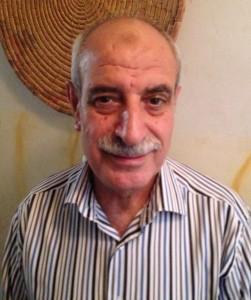 Sheik Zuhair met us at his apartment.