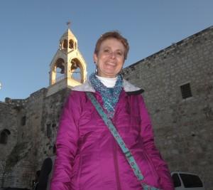 Bridget visited the Nativity Church.
